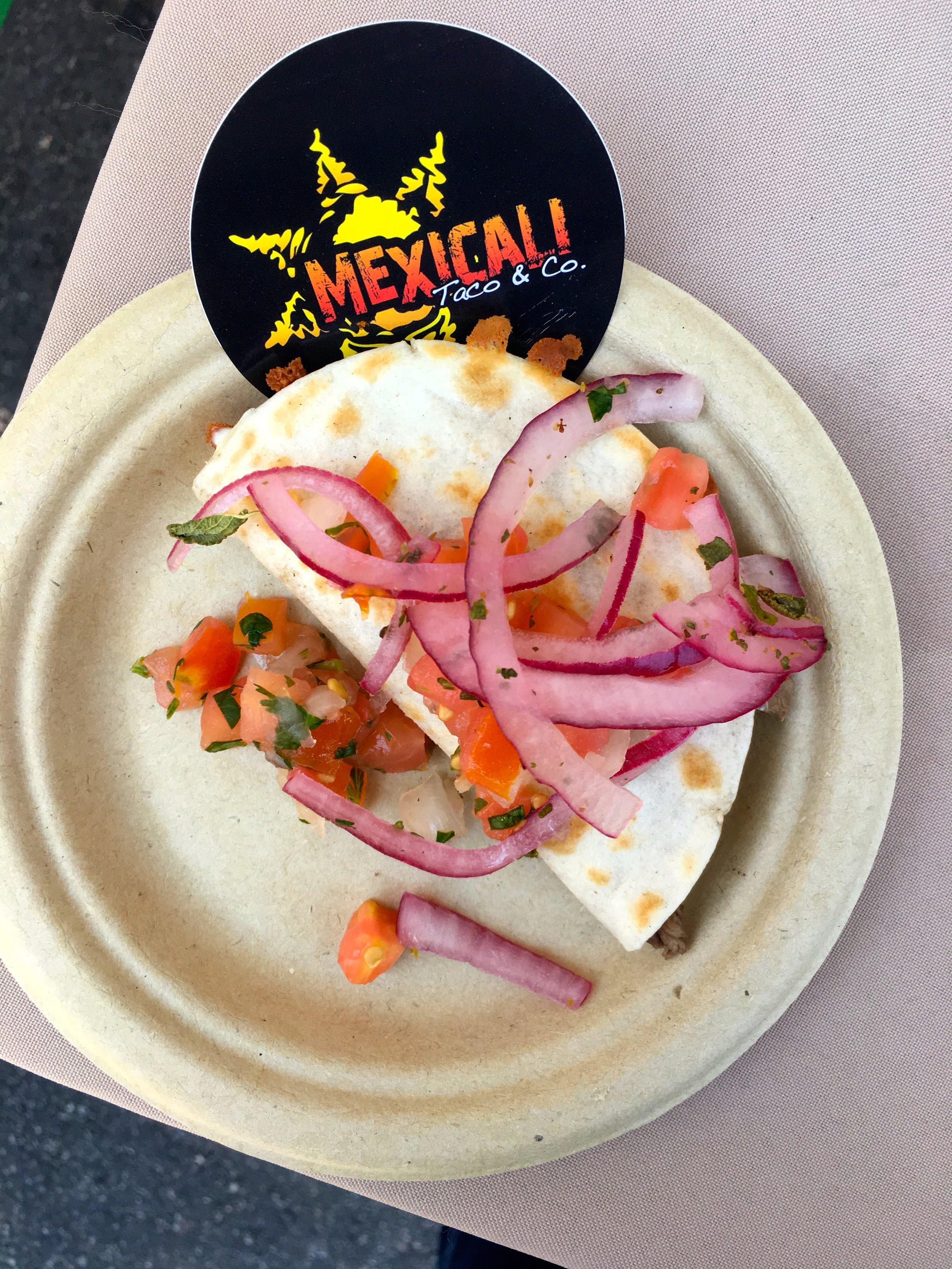 Carne Asada Quesadilla. Mexicali Taco Co.