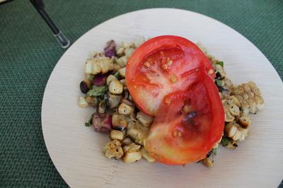 Heirloom Tomatoes and Corn Salad. Whole Foods Market.