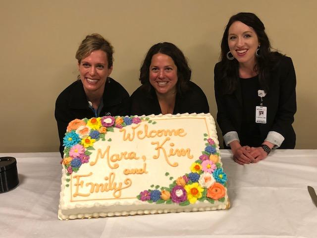 Experienced Certified Nurse Midwives Emily Beaman, Mara Evans, and Kimberly Bertram make up the new Midwifery Practice at SSM St. Mary's Hospital and SSM Health Fish Hatchery location.