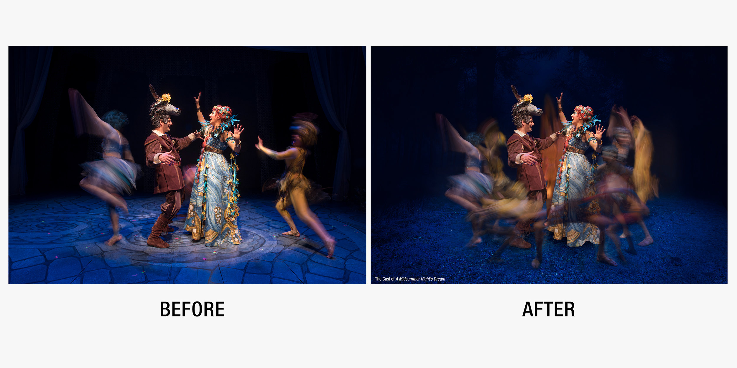 Press Image for  A Midsummer Night's Dream  at Barter Theatre.