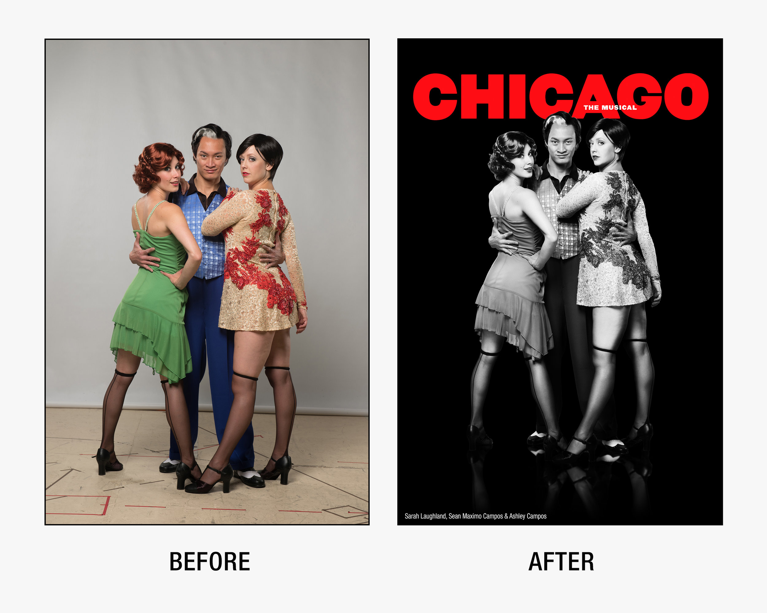 Press Image for  Chicago  at Barter Theatre.