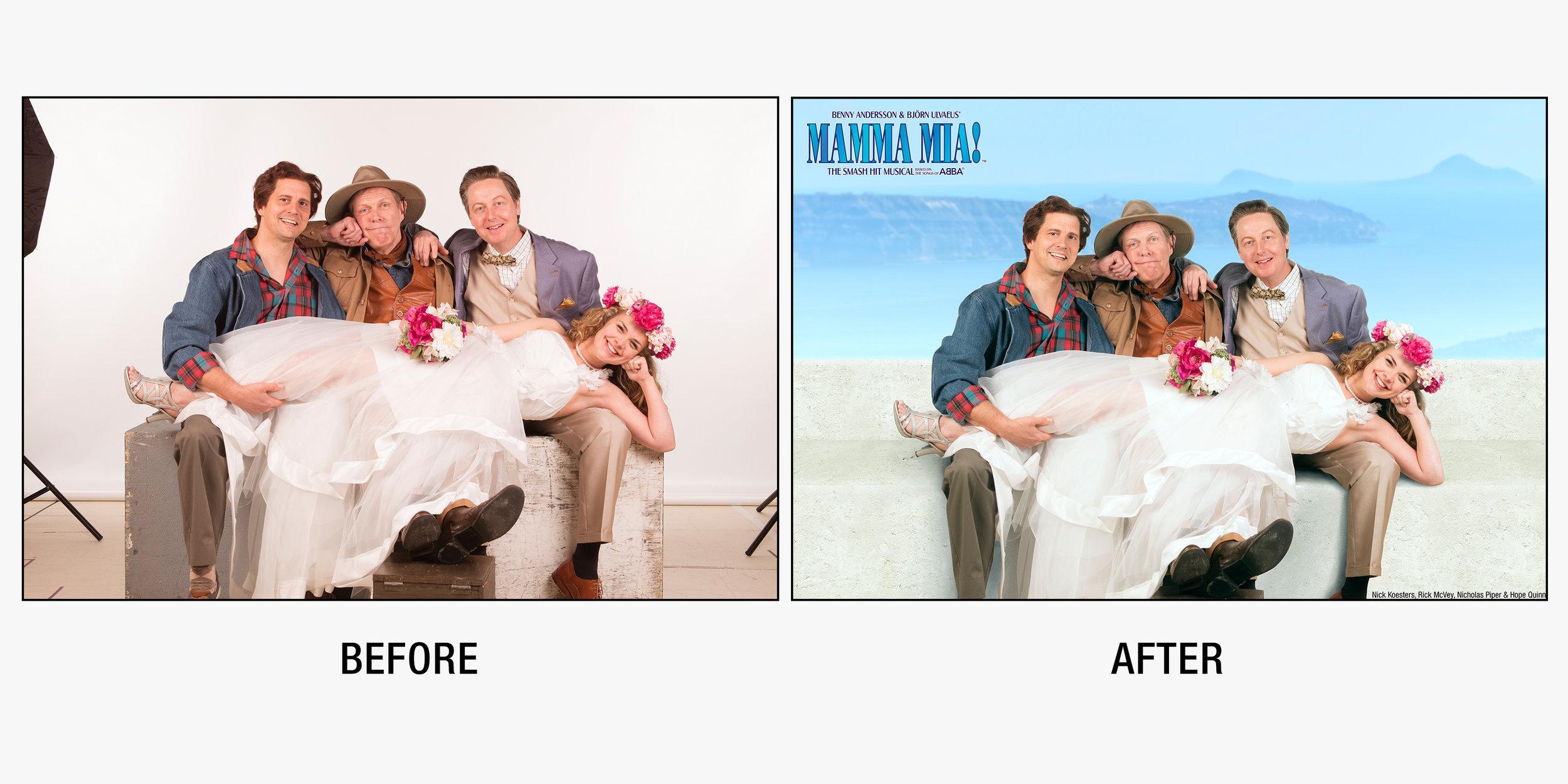 Press Image for  Mamma Mia!  at Barter Theatre.