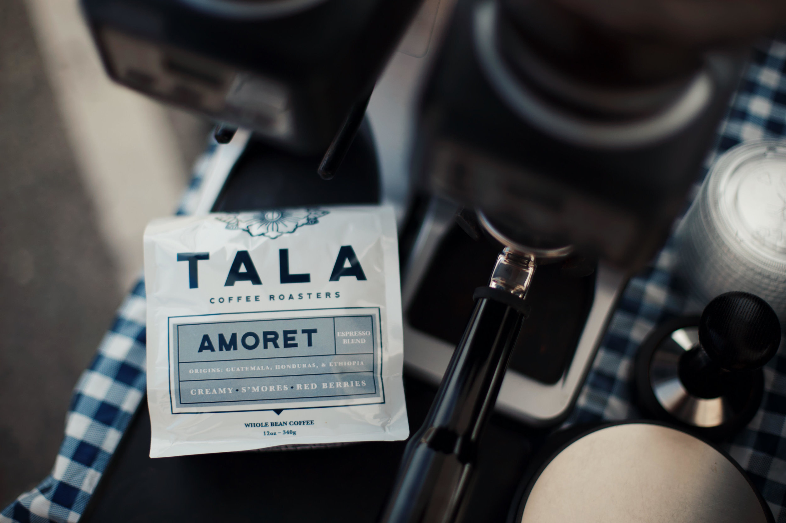 Amoret Espresso blend has a deep body with lots of sweetness like rich maple syrup. It has just a hint of fruitiness for a full well-rounded flavor. Enjoy as espresso or drip coffee.