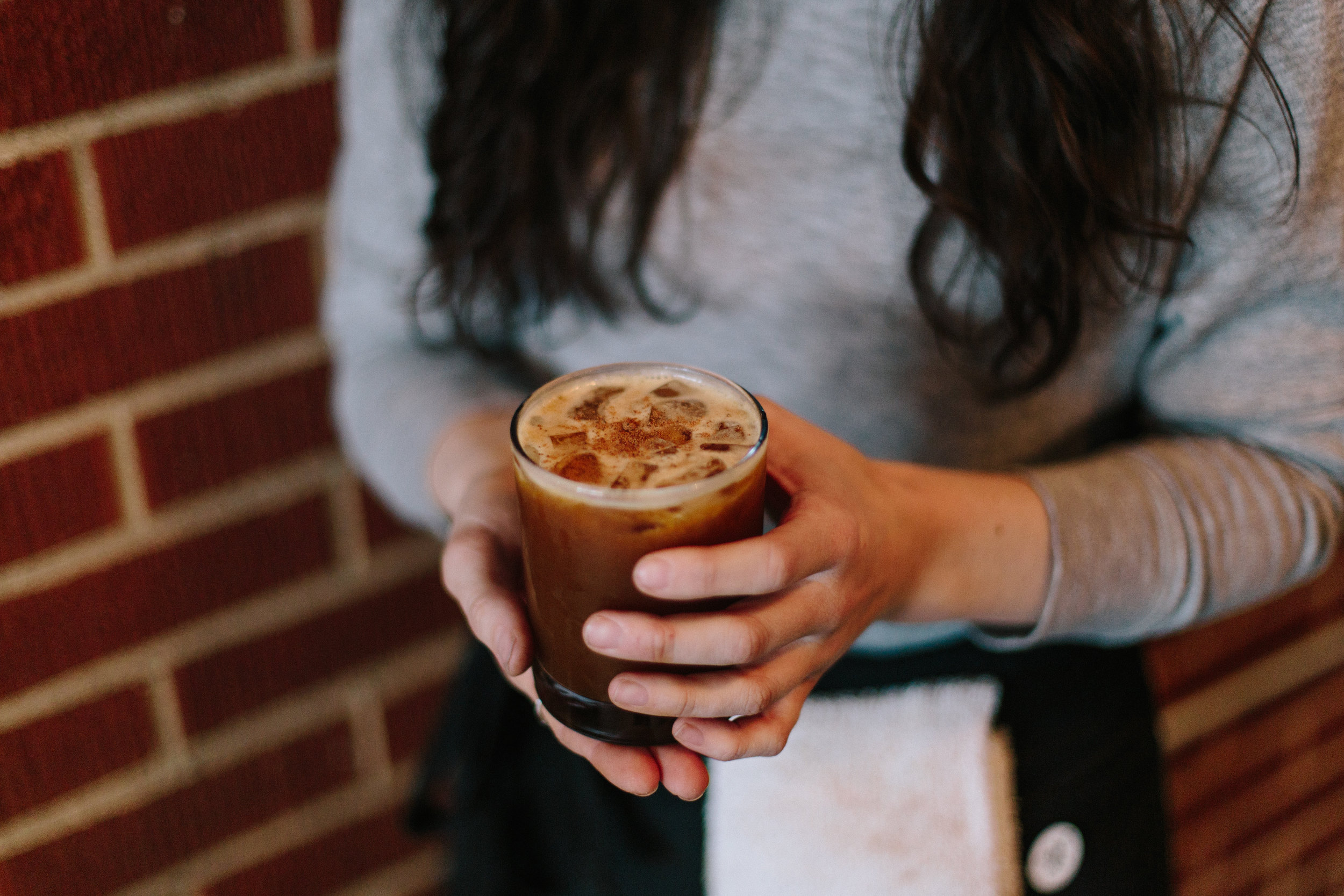 The SPRO-jay is the wildest concoction on the bunch this season. It originally came from an interesting experiment, and its stuck ever since. Freshly squeezed orange juice, espresso, house-made vanilla simple syrup, sparkling water and a dash of nutmeg on top. This is basically a coffee creamsicle, perfect for the warmer days!
