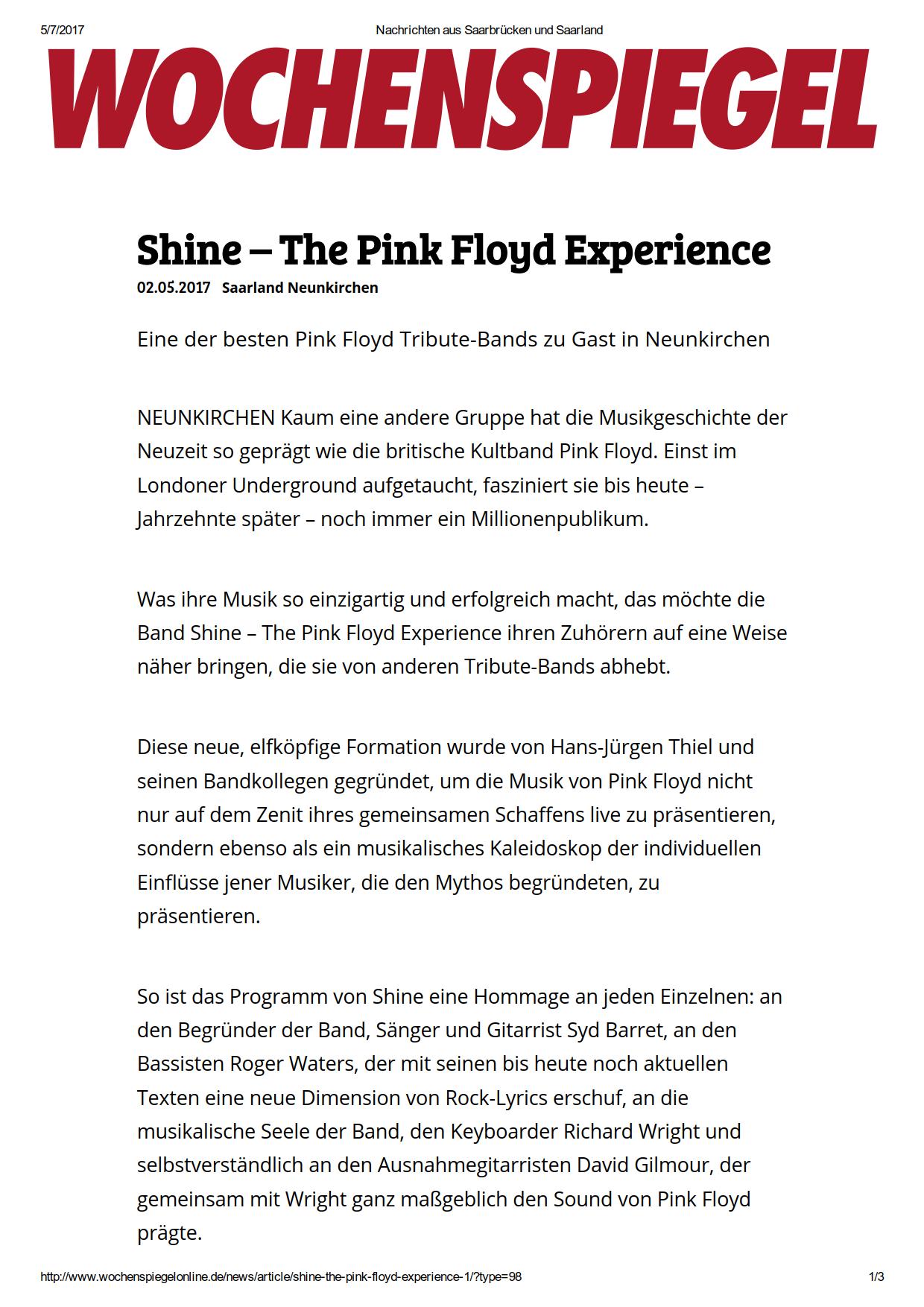Shine – The Pink Floyd Experience_ Eine der besten Pink Floyd Tribute-Bands zu Gast in Neunkirchen_1.png