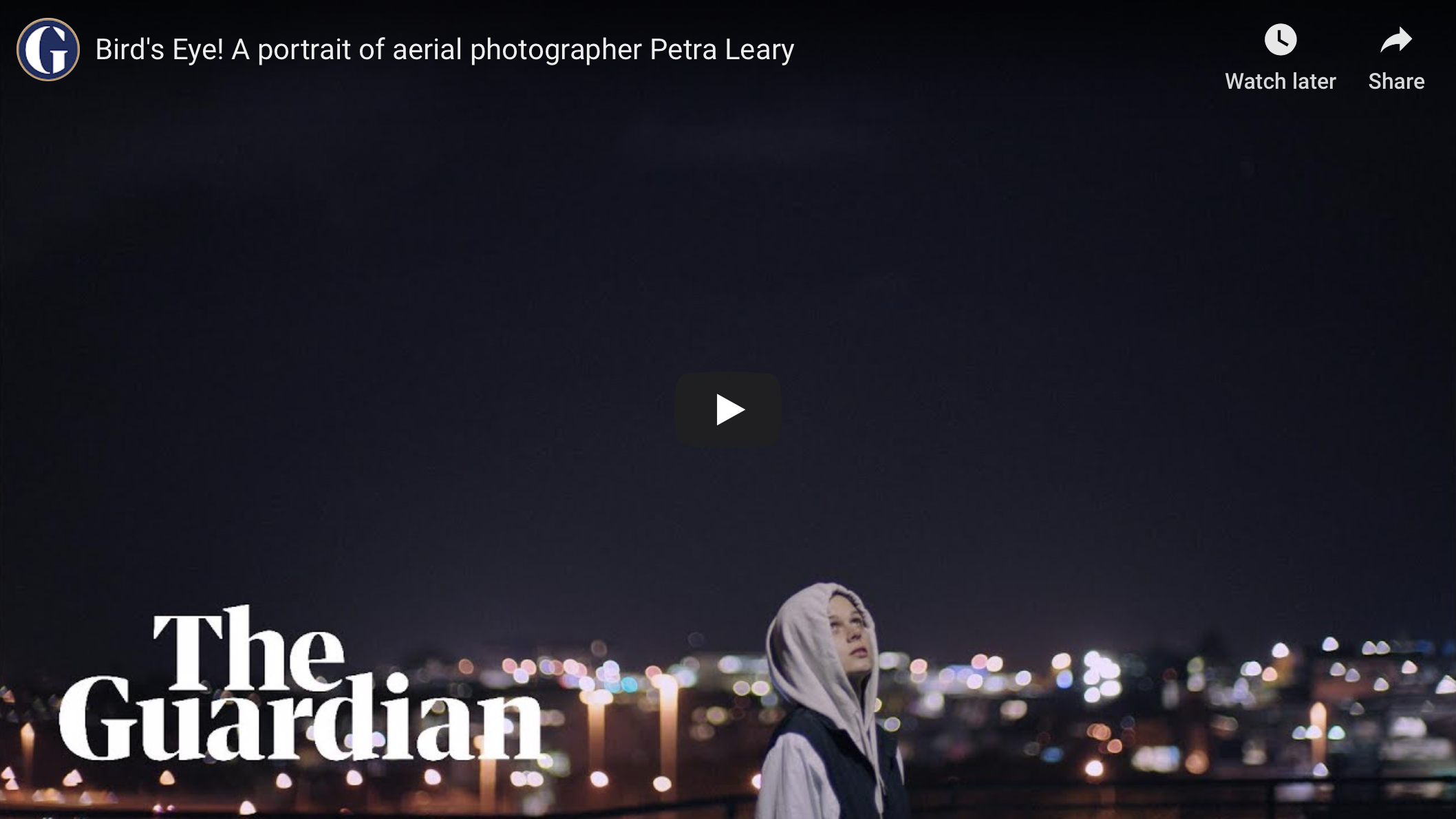 The Guardian  Bird's Eye! A portrait of aerial photographer Petra Leary