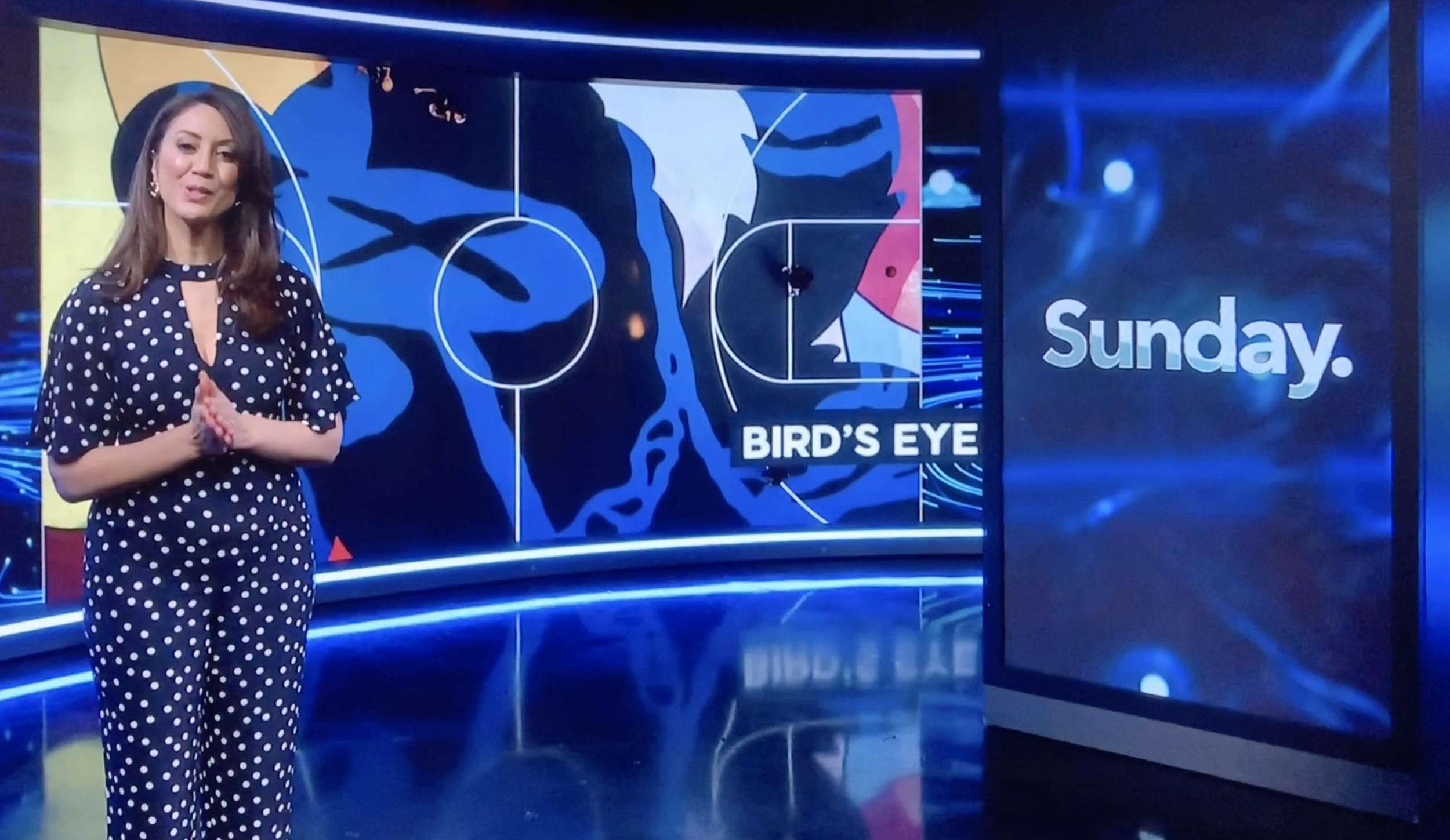 Sunday TVNZ - Bird's Eye! Ft.