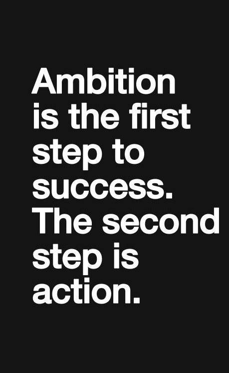 Quote-Ambition
