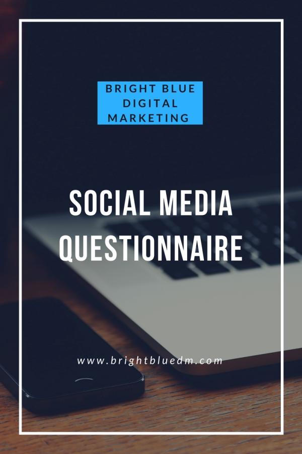 Social Media Audit - Bright Blue Social Agency