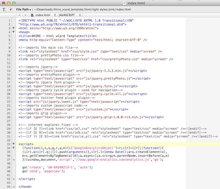 Google Analytics - Bright Blue Coding
