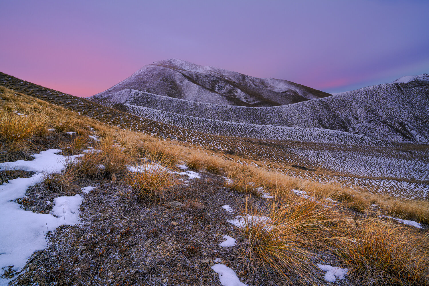 Sunrise / Lindis Pass