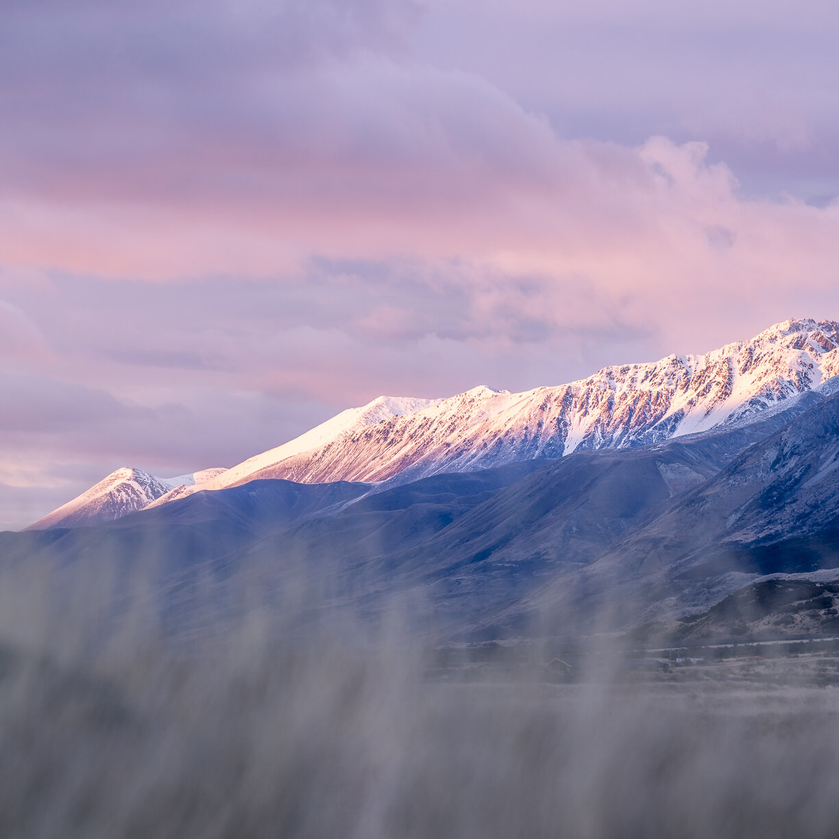 Sunset / Aoraki/Mt Cook National Park