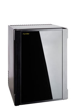 PAMIBAR S40   Lautlose Minibar Fassungsvermögen: 40 l H/B/T: 560x400x430 mm