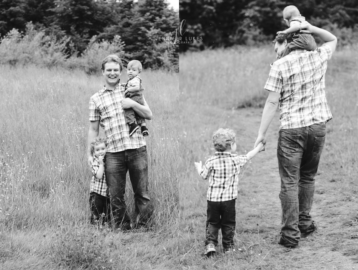 Daddy and Me · Seattle Family Photo Session · Father's Day 2017