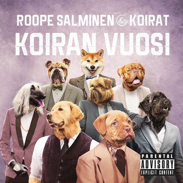 Ylpeänä voimme kertoa että meidän toinen studioalbumi Koiran vuosi julkaistaan perjantaina 25.10. 🤩 Levy on nyt ennakkotilattavissa, linkki biossa! ❤️🐶 #roopesalminenjakoirat #koiranvuosi