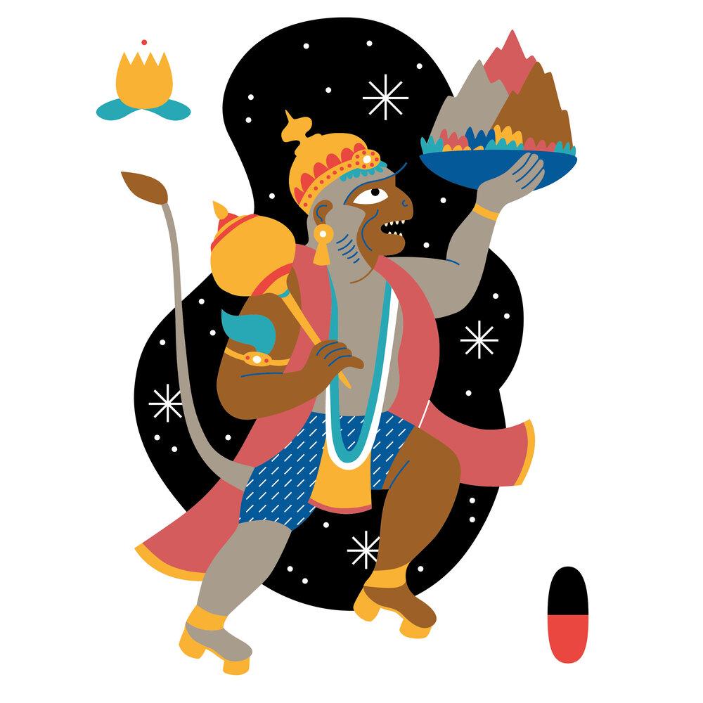 Hanumanasana — YàP
