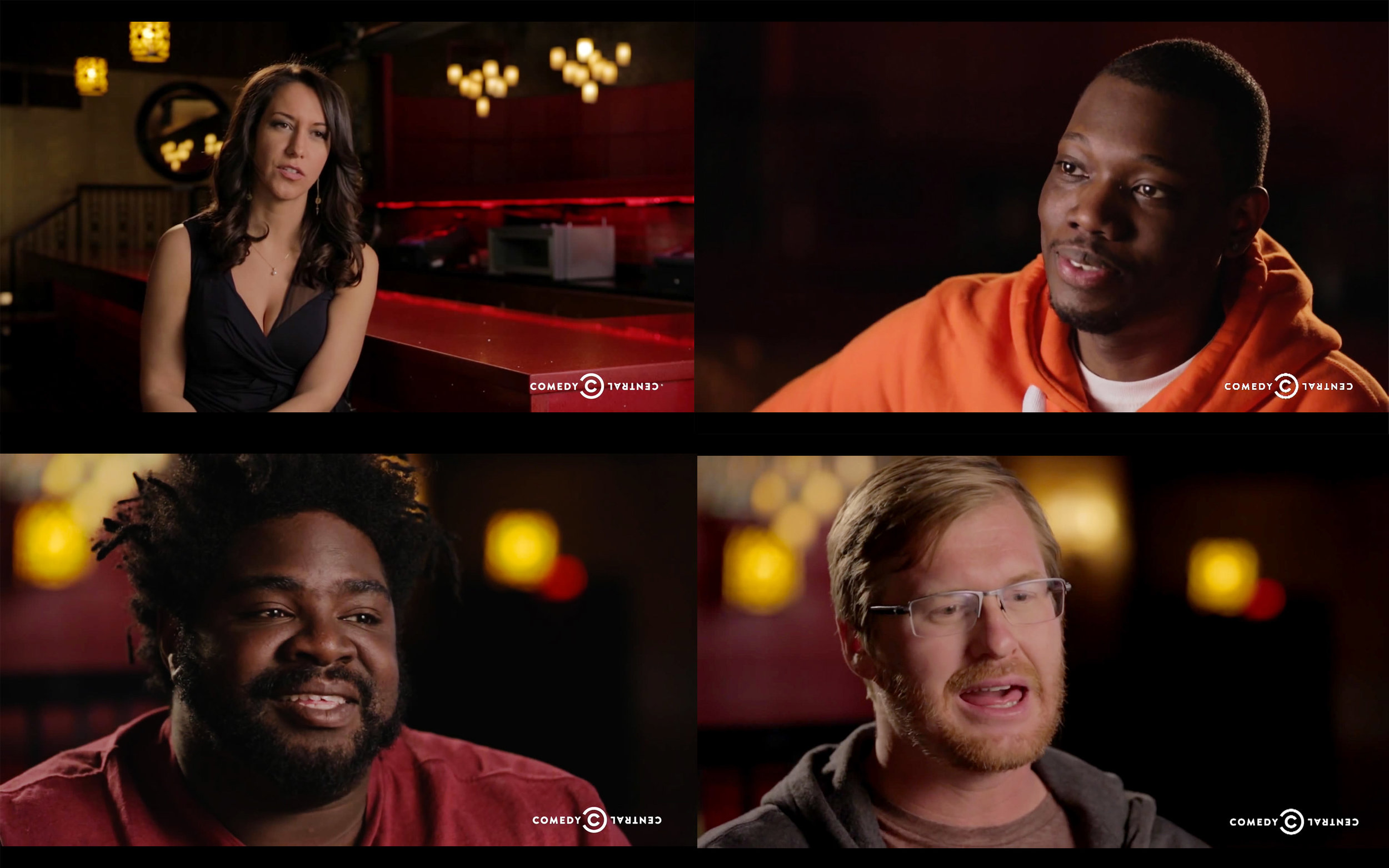 Comedy Central's Half Hour: Behind the Scenes  - Directed by Scott Moran.   View episodes here