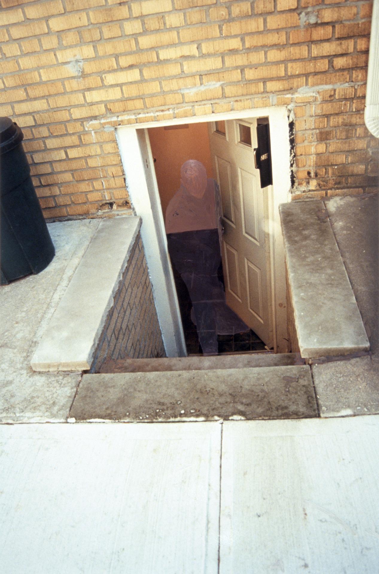 23b Horace Court, front entrance