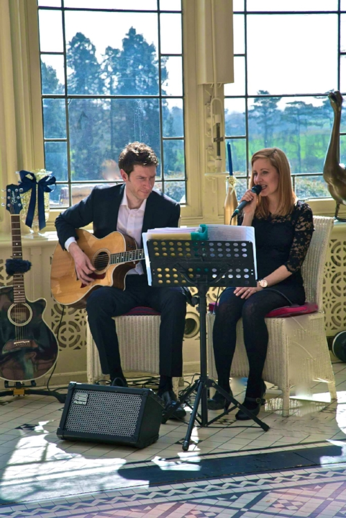 Taylormade Acoustic Duo playing at Kilworth House