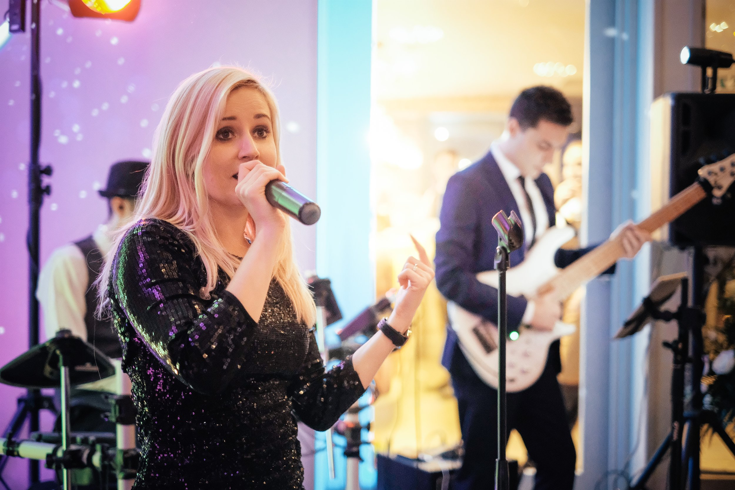 Carley Taylormade Live Band For Weddings Blackwell Grange