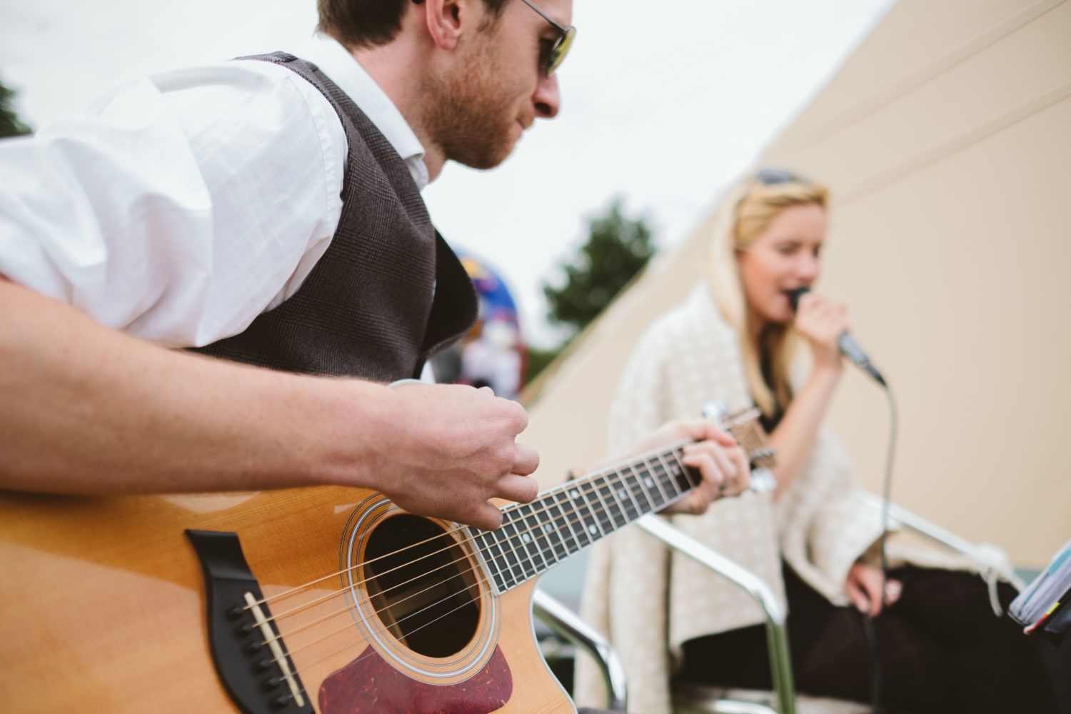 Taylormade Acoustic Duo Leicestershire Wedding Band