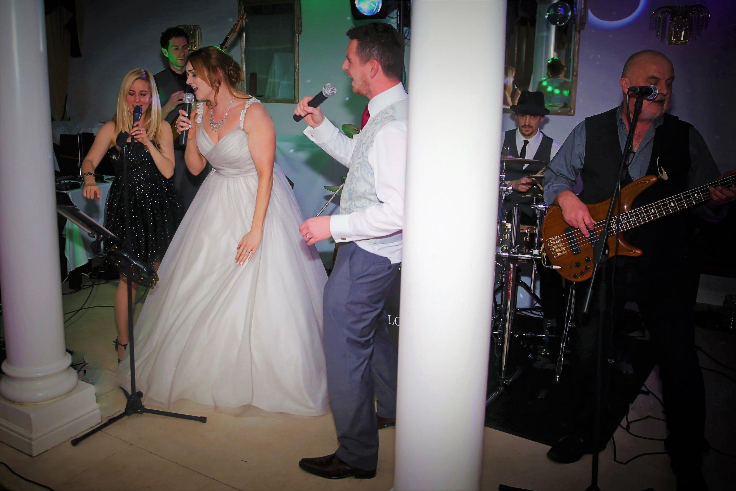 Nicola and Joe Live Wedding Band Leicestershire