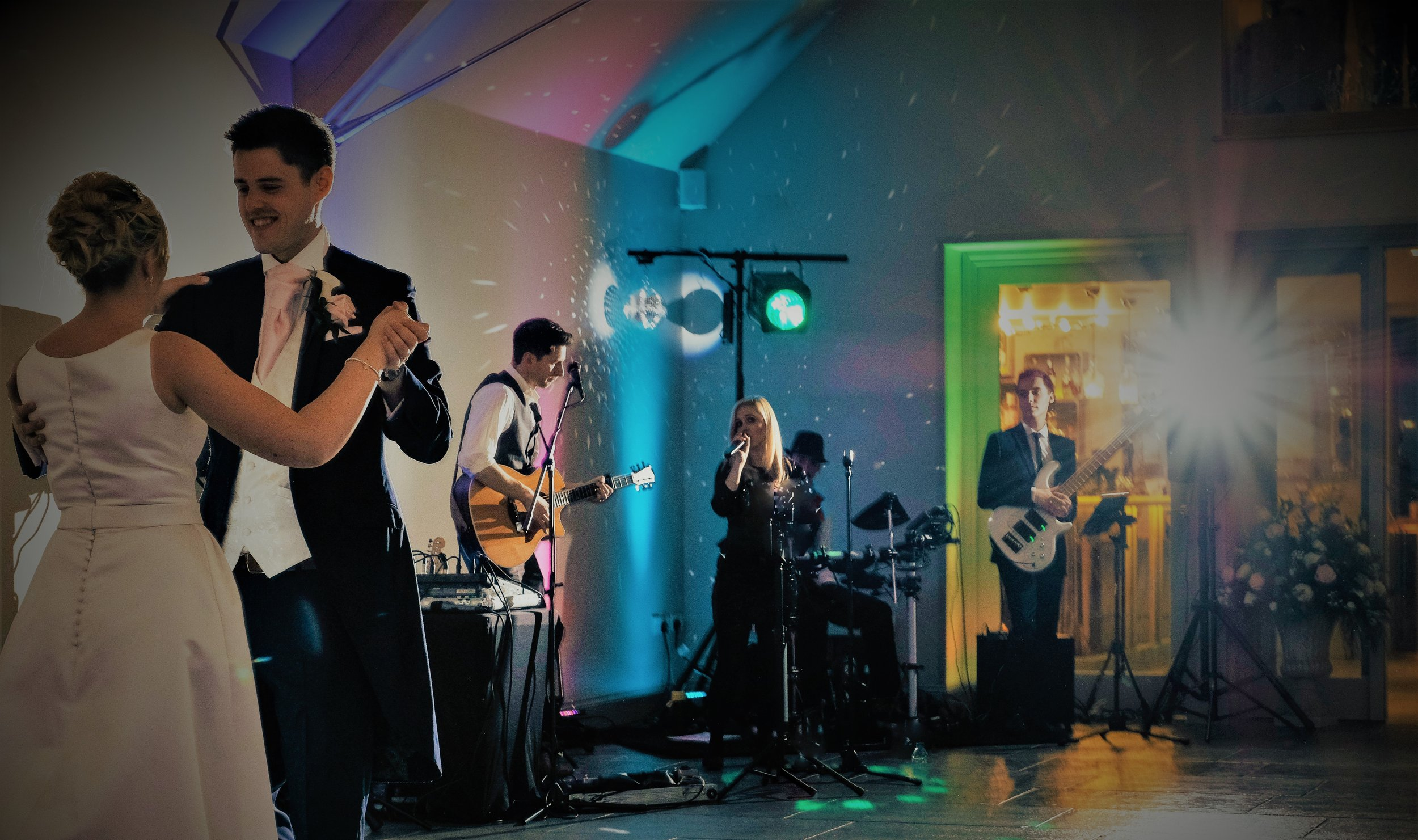 Taylormade LIve Band Blackwell Grange Wedding
