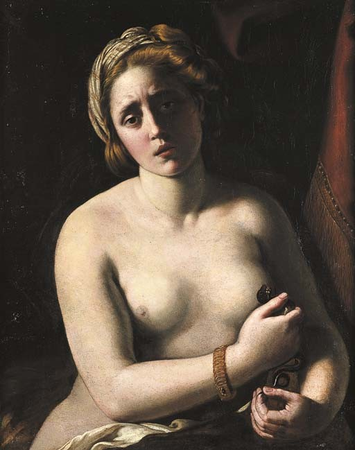 Antiveduto Gramatica – La morte di Cleopatra (1610)