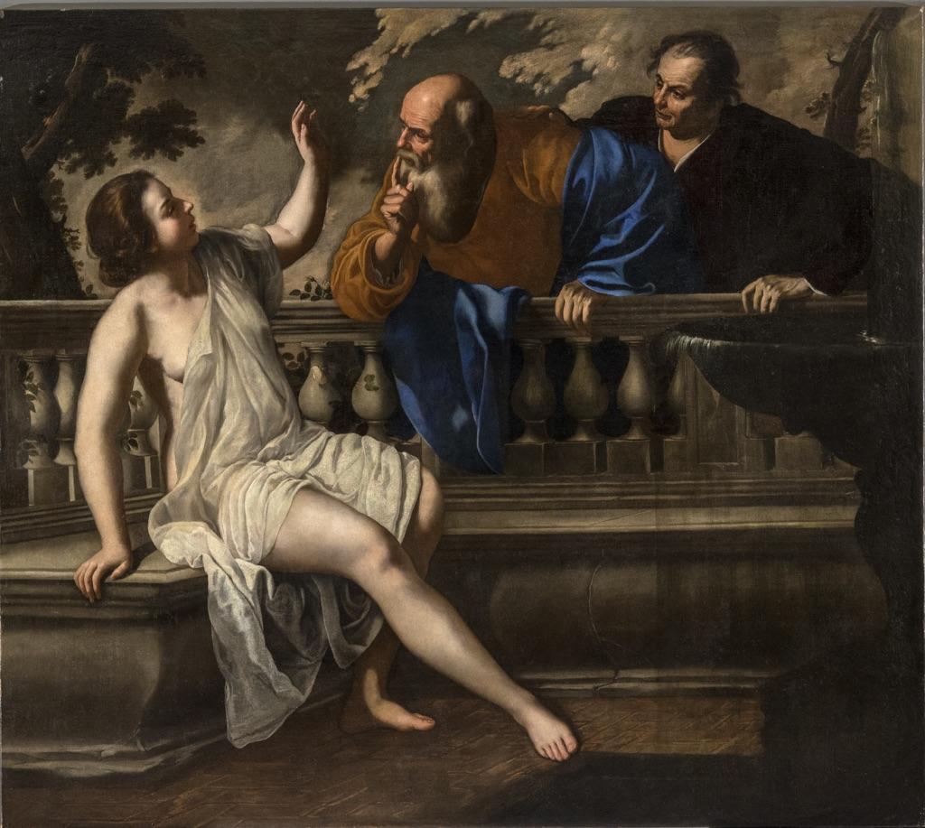 Artemisia Gentileschi – Susanna e i vecchioni (1652)