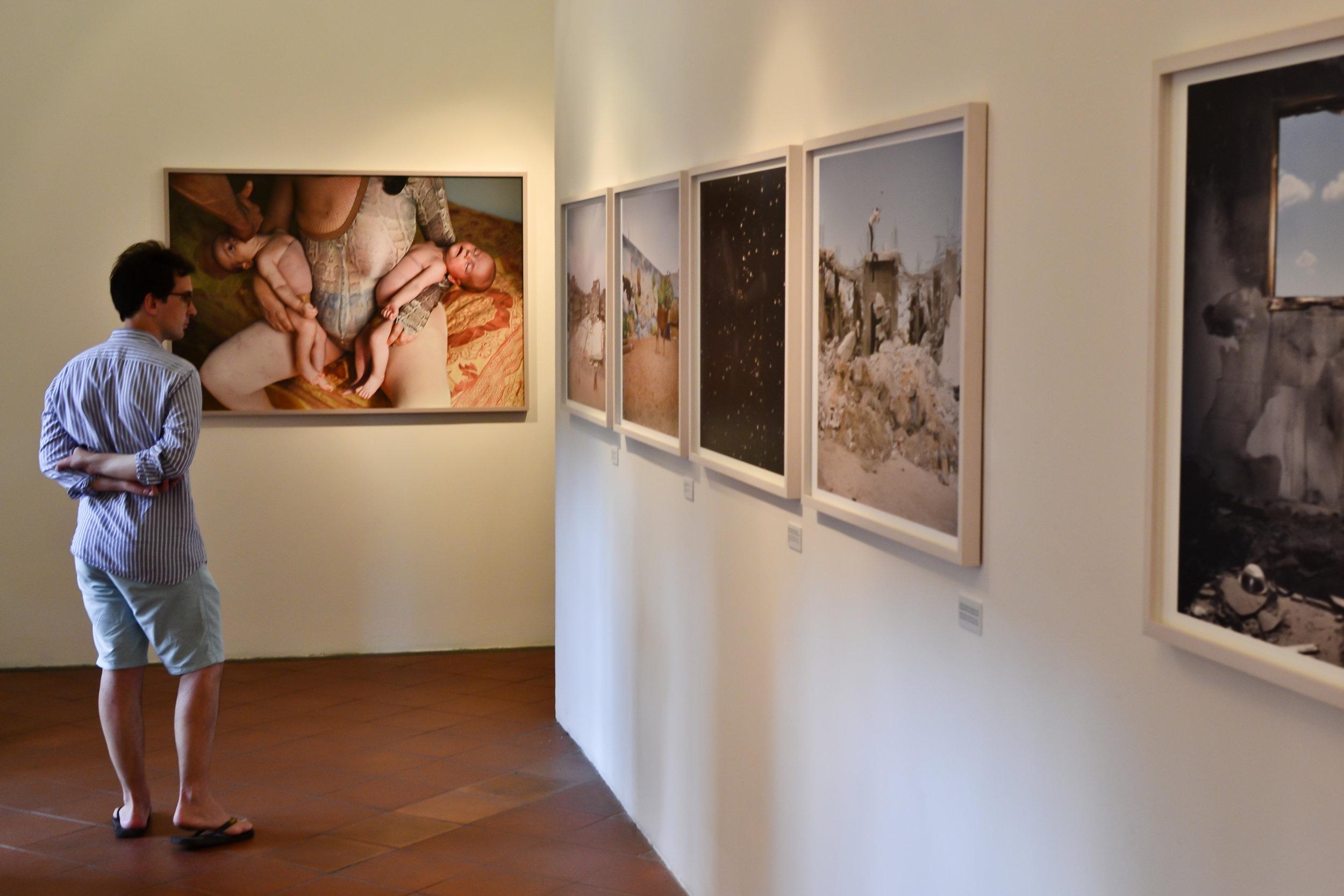 In mostra ci sono circa 250 fotografie di 19 fotografi - Foto: Rafael Belincanta