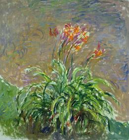 MMT 169623                                Hemerocallis, 1914-17 (oil on canvas)                                Monet, Claude (1840-1926)                                MUSEE MARMOTTAN MONET, PARIS, ,