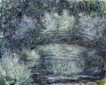 MMT 181501                                                        The Japanese Bridge, 1918-19 (oil on canvas)                                                        Monet, Claude (1840-1926)                                                        MUSEE MARMOTTAN MONET, PARIS, ,