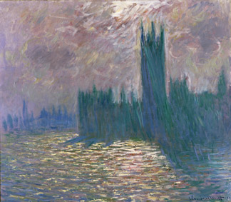 MMT 155332                                                        Parliament, Reflections on the Thames, 1905 (oil on canvas)                                                        Monet, Claude (1840-1926)                                                        MUSEE MARMOTTAN MONET, PARIS, ,