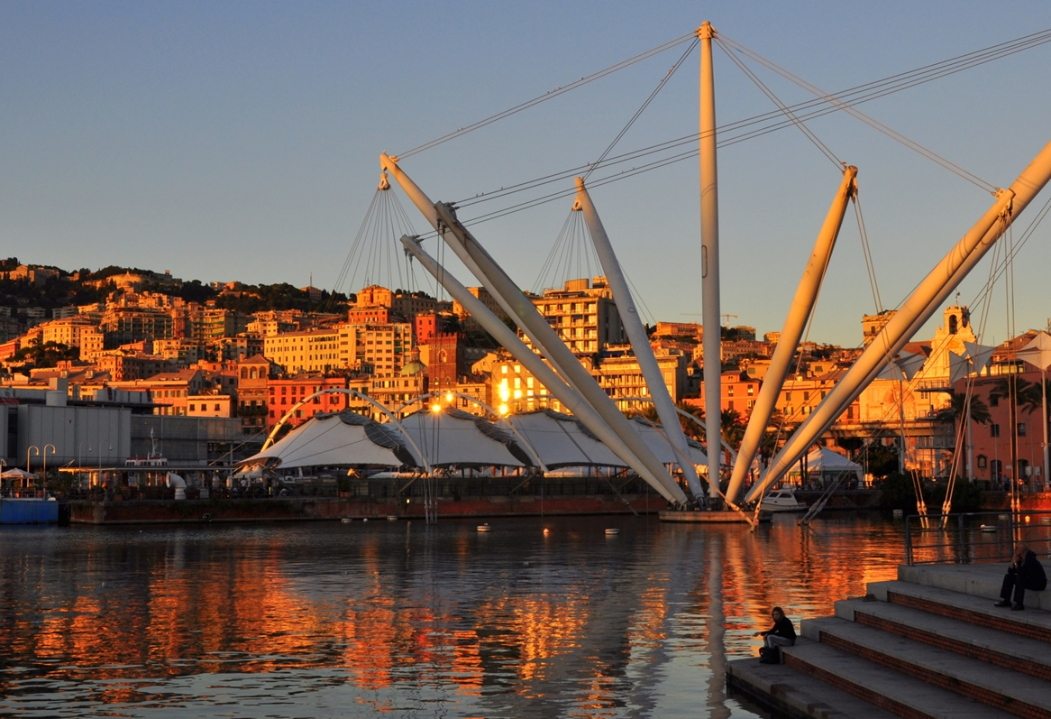 I lavori sono stati magistralmente condotti dal famoso architetto genovese Renzo Piano.