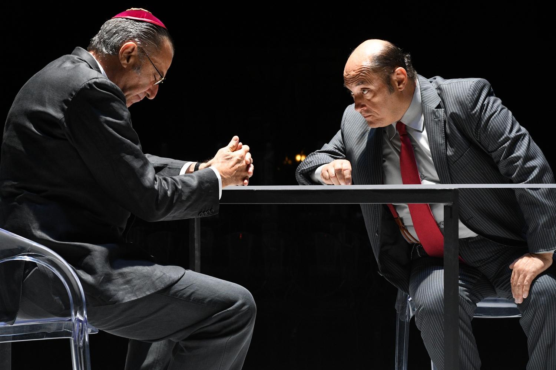 Luca Barbareschi e Duccio Camerini in IL PENITENTE foto di Bepi Caroli  MEDIA DSC_7996.JPG