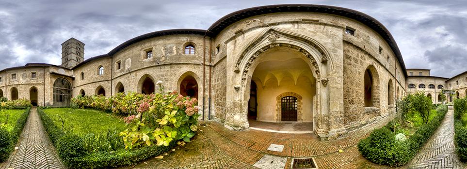 Il monastero di Santa Scolastica a Subiaco, dove è stato stampato il primo libro in Italia.