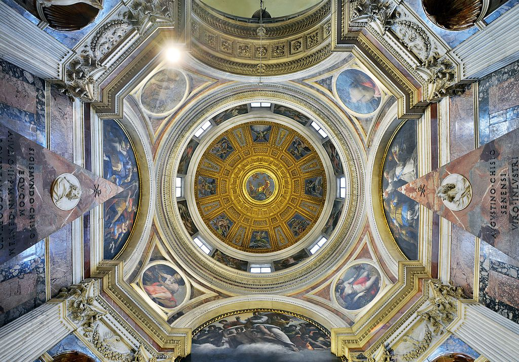 Dome_Cappella_Chigi,_Santa_Maria_del_Popolo_(Rome)_Wide_view.jpg