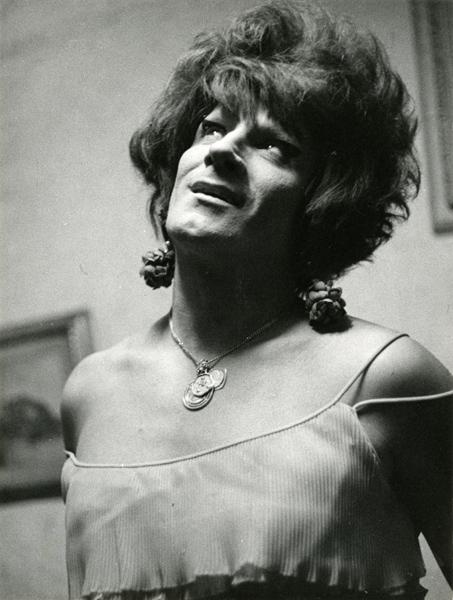 Lisetta Carmi, I Travestiti, La Gitana,1968 c.@Lisetta Carmi, courtesy Martini & Ronchetti_600.jpg