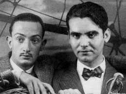Dalì assieme a Garcia Lorca.