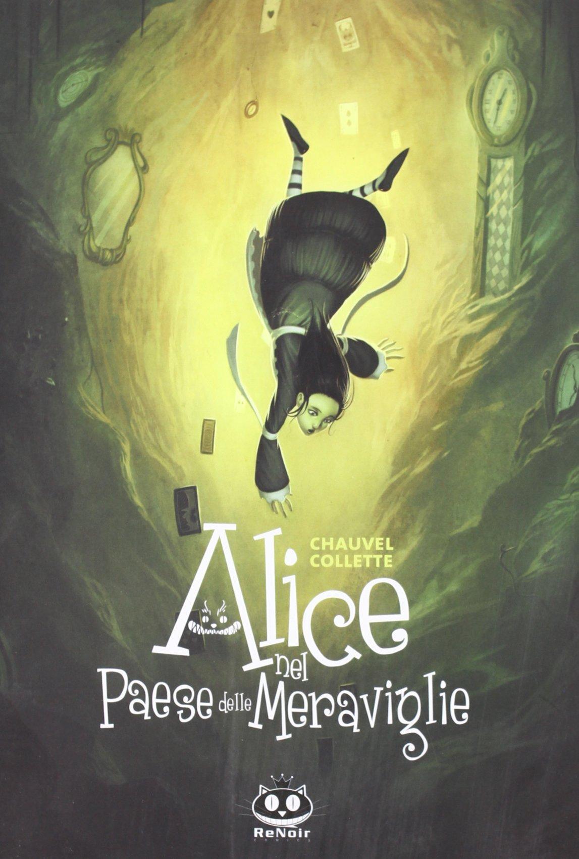 La versione di Alice di David Chauvel e Xavier Collette ha un tocco dark che ben si adatta alla storia originale. Un'opera che vale sempre la pena di leggere e rileggere. -