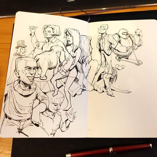 #Inktober #sketchbook #inktober2019 #Drawing