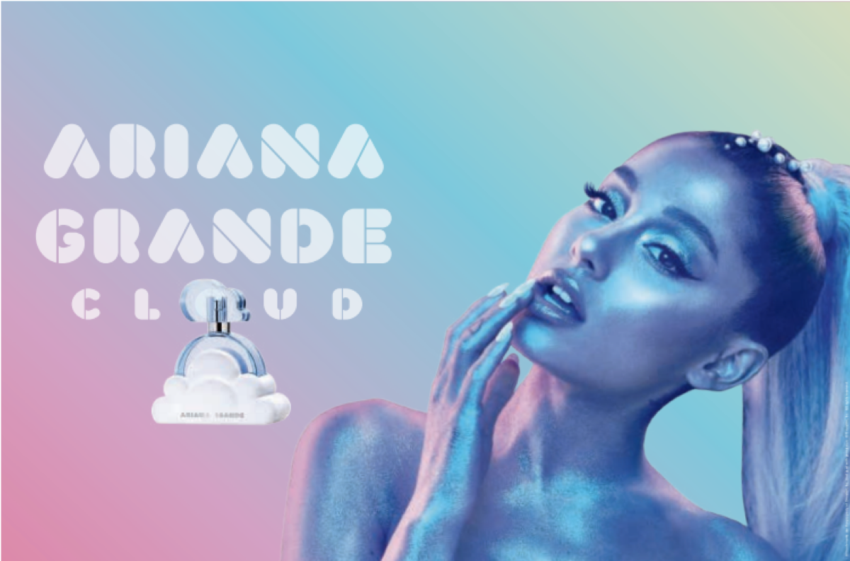 Ariana Grande Cloud Perfume UK Launch Press