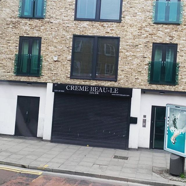 Thank you for sharing this 📸 @keeganpeacey and for alerting us to this absolute gem in the neighbourhood of Tape HQ. It's great to know we're surrounded by creative businesses. And Thank. You. Creme-Beau-le for giving it your all when it came to naming your biz. We salute you. 👏🏻👏🏻👏🏻