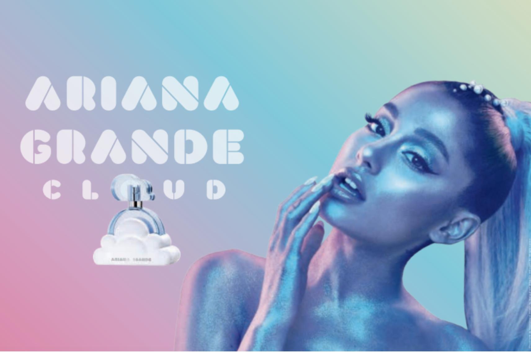 Ariana Grande Cloud Perfume UK Launch Press