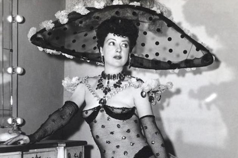 Actress and Performer Gypsy Rose Lee