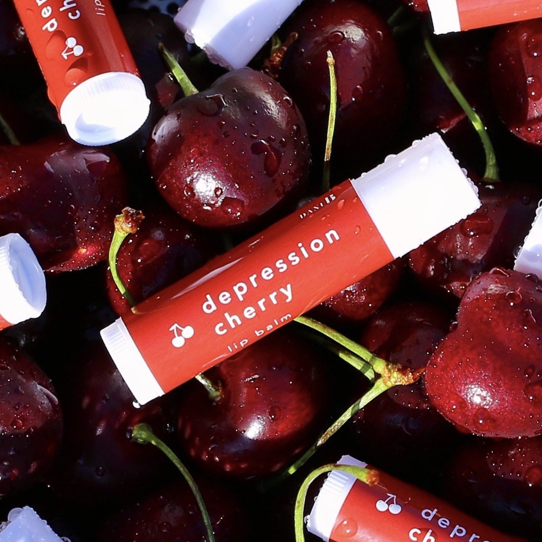 Depression Cherry Lip Balm