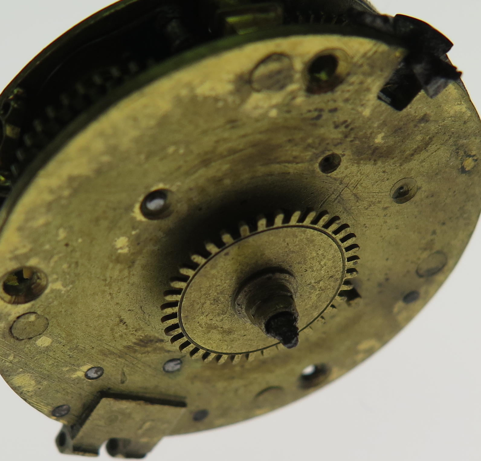 Dial side of the movement
