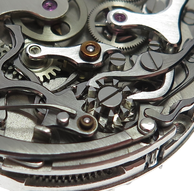 Chronograph wheels and levers