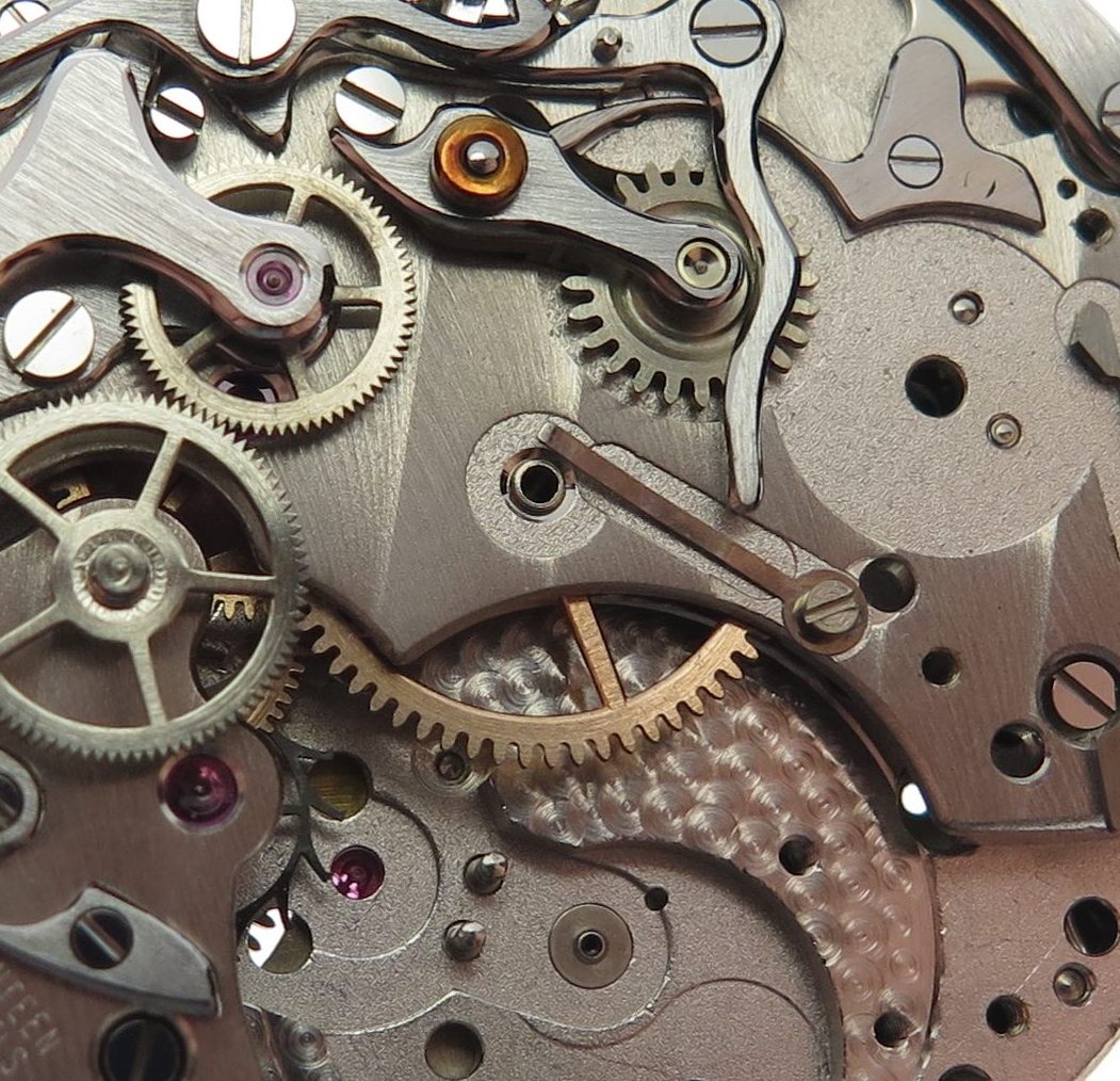 Partially disassembled chrono..