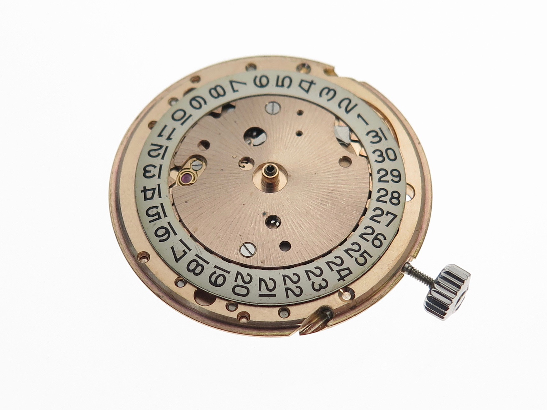 Dial side of movement